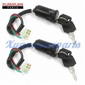 Ignition Key Switch For Chinese Quad Atv 50cc 70cc 90cc