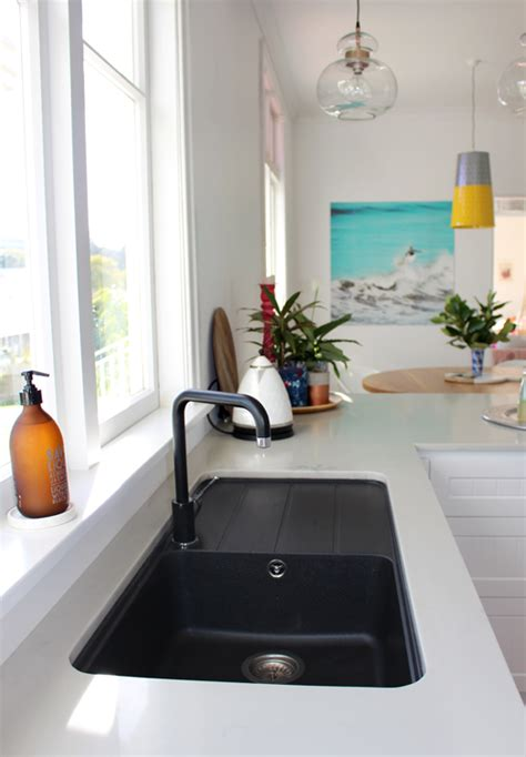 black kitchen sink nz cush and nooks my kitchen the reveal