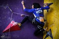 Women Rock Climbing Competition