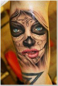 sugar skull tattoo   ideas  designs
