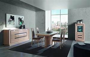 salle a manger contemporaine chene ceramique marina With salle À manger contemporaine avec objet deco design statue