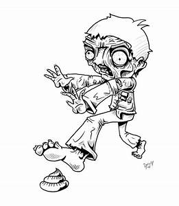 Imágenes de Zombies para colorear Colorear imágenes