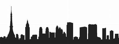 Tokyo Clipart Skyline Japan Dubai Silhouette Transparent