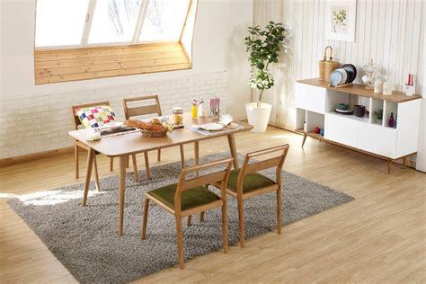 table de salle 224 manger design en bois dewarens