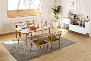 table de salle a manger design en bois julia dewarens With salle a manger design bois
