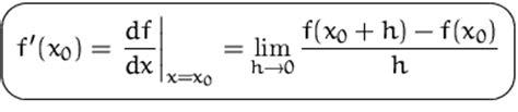 ist der differentialquotient