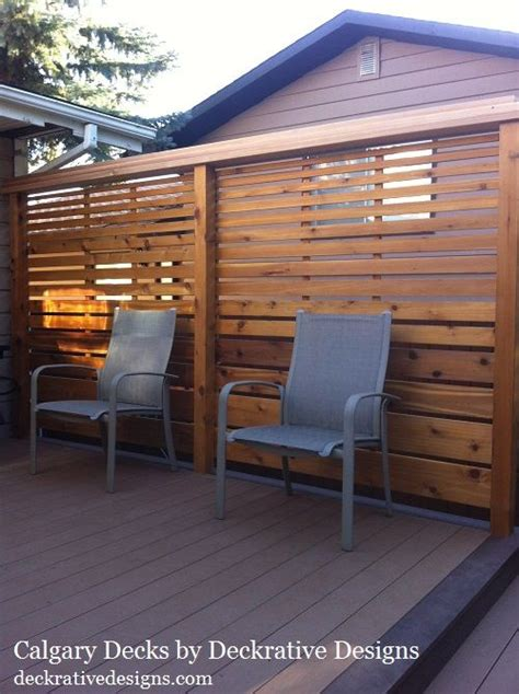 privacy deck railing ideas google search backyard