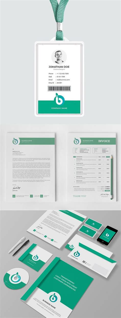 corporate stationery design templates  images