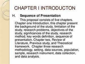 dissertation proposal methodology example