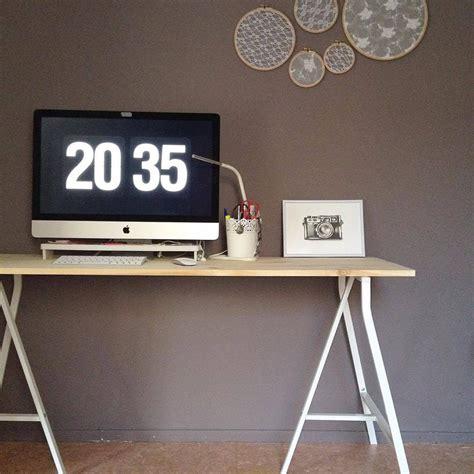ikea tablette cuisine le bureau presque parfait bidouilles ikea