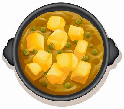 Curry Vector Yellow Pan Indian Clipart Background