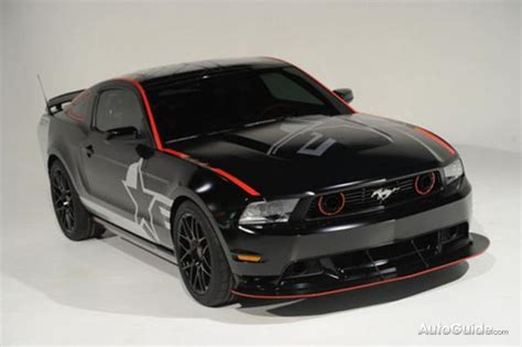 roush shelby mustang sr  official pictures revealed