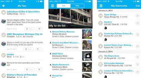 travel apps for iphone best travel guide apps for iphone foursquare gogobot