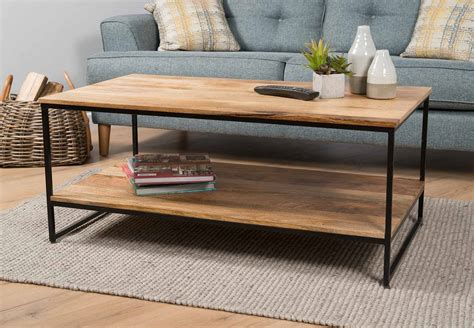 Coffee tables, also called occasional tables or side tables, come in an astonishing range of shapes, sizes and colours. INDUSTRIAL LIGHT MANGO COFFEE TABLE - 2 SIZES - CONTEMPORARY MODERN FURNITURE   eBay