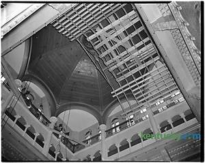 Fayette County courthouse dome, 1944 | Kentucky Photo Archive