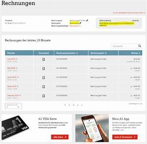 Rechnung Nicht Bezahlen : umstieg auf die online rechnung die wichtigsten facts a1 community ~ Themetempest.com Abrechnung