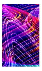 Purple Blue Yellow Colors Light HD Abstract Wallpapers ...