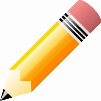 Pencil Clip Teachers Holder Gift Clipart Diy