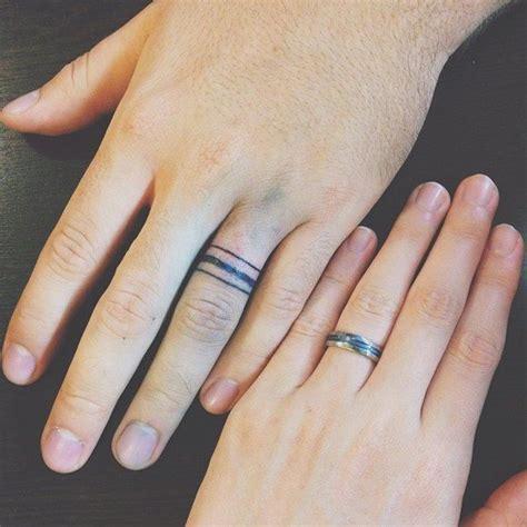 wedding ring tattoos   symbolize  love