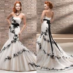 wedding dress with corset enchanting black and white mermaid wedding dresses sweetheart low back lace sash corset chapel