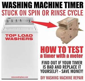 Washing Machine Timer Stops During Cycle
