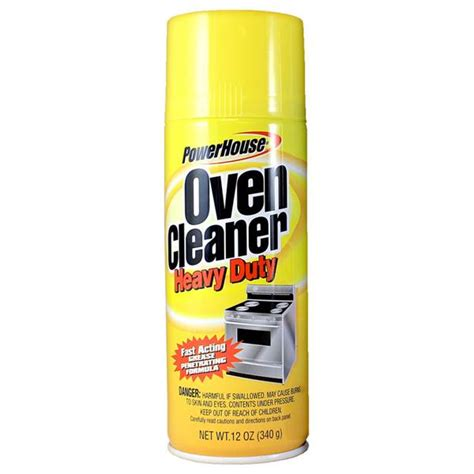 best oven cleaner powerhouse heavy duty oven cleaner
