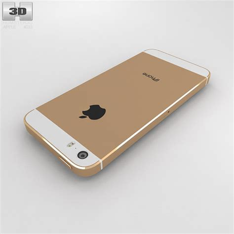 iphone 5s gold price apple iphone 5s gold 3d model humster3d