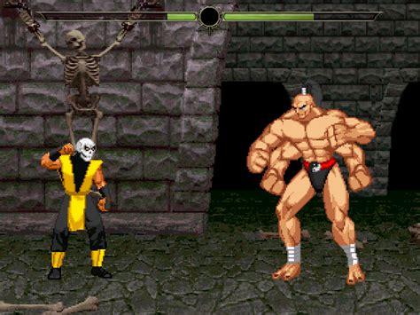 Mortal Kombat Prize Fighter Vs Goro By Mugenstation360 On