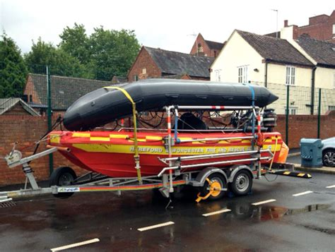 Water Rescue Boats by Defra Water Rescue Boats Hereford Worcester And