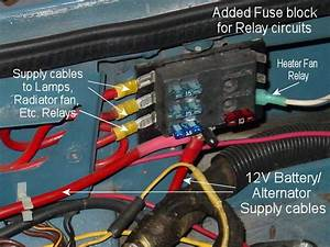 Second Fuse Block To Feed Relays   Mgb  U0026 Gt Forum   Mg