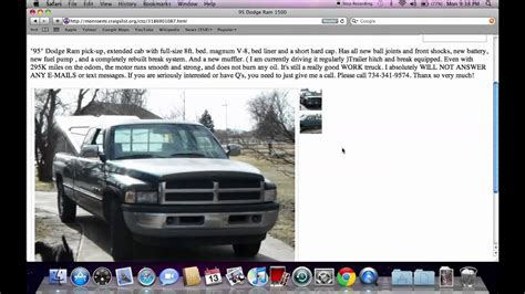 craigslist monroe michigan  cars  trucks fsbo