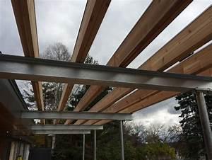 pergolas en acier galvanise With terrasse en acier galvanise