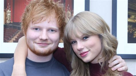 Ed Sheeran Approves Of Taylor Swift's Boyfriend Joe Alwyn