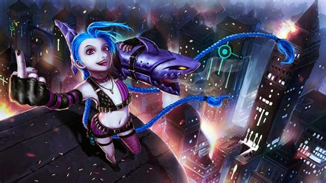 lol jinx wallpaper  wallpapersafari