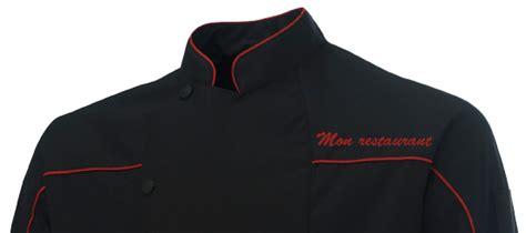 veste de cuisine homme personnalisable vêtement de travail personnalisé pour les professionnels