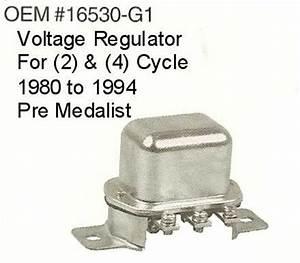 Club Car Voltage Regulator Wiring : voltage regulator e z go gas 1980 94 pre medalist ~ A.2002-acura-tl-radio.info Haus und Dekorationen