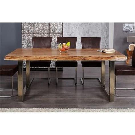 desserte de cuisine pas cher table design akazio bois achat vente table salle a