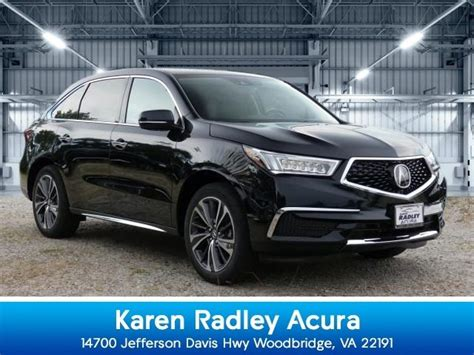 2020 acura mdx technology woodbridge va 31733161