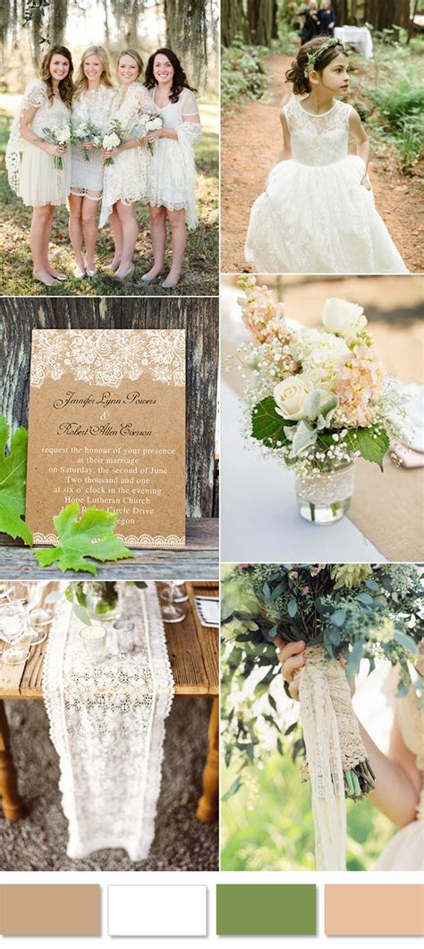 incorporate lace   weddings