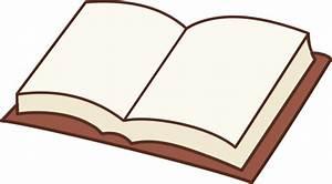 Open Book Clipart Design - Free Clip Art