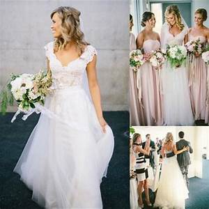 bohemian style wedding dresses 2016 design with long With affordable boho wedding dresses