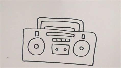 mewarnai gambar radio anak tk