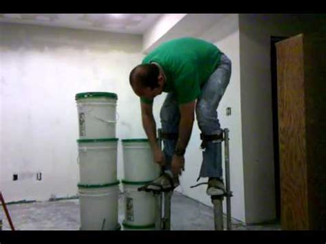 new skill learned today drywall stilts