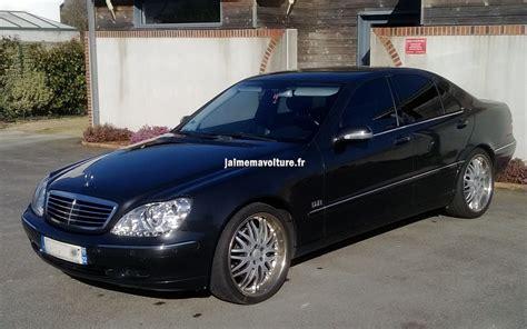 Mercedes S Class Modification by Modification D Une Mercedes Classe S S320 W220