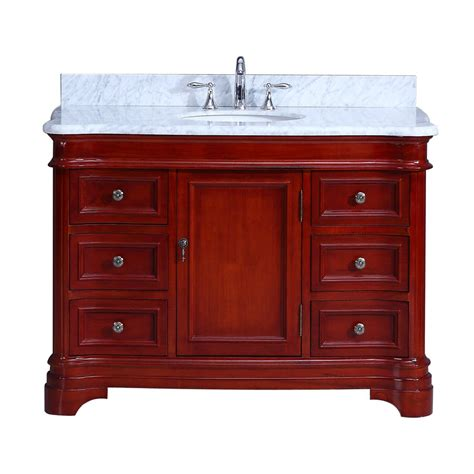 Cambria Vanity by Cambria Vanity 48in Cherry Home Surplus