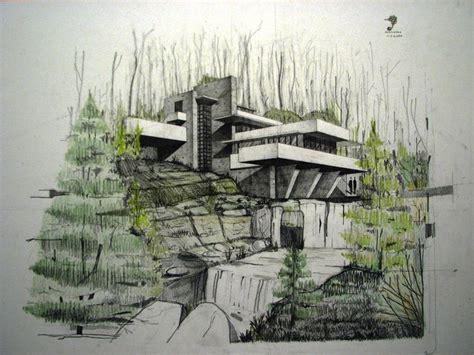 fallingwater house   fremenul  deviantart