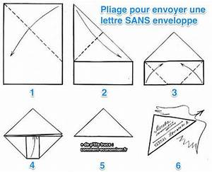 Comment Fabriquer Une Enveloppe : l 39 astuce pour envoyer une lettre sans enveloppe projets ~ Melissatoandfro.com Idées de Décoration