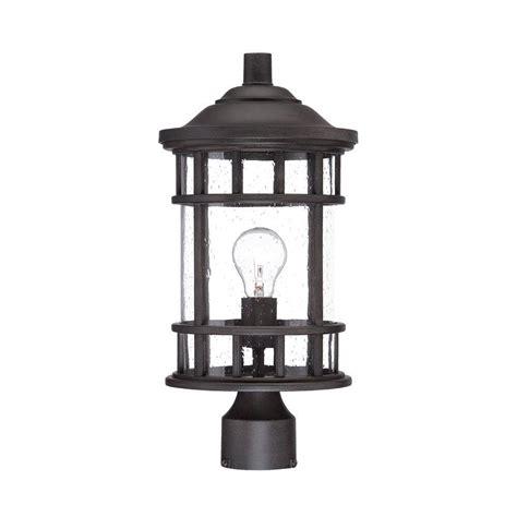 vista outdoor lighting acclaim lighting new vista 1 light black coral outdoor