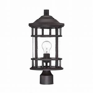 acclaim lighting new vista 1 light black coral outdoor With vista outdoor lighting model 2216