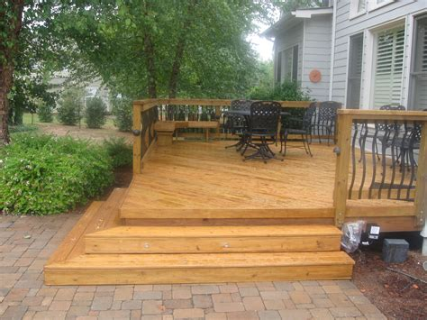 patio design small decks open stairs brick patio wooden decks google search wood decks